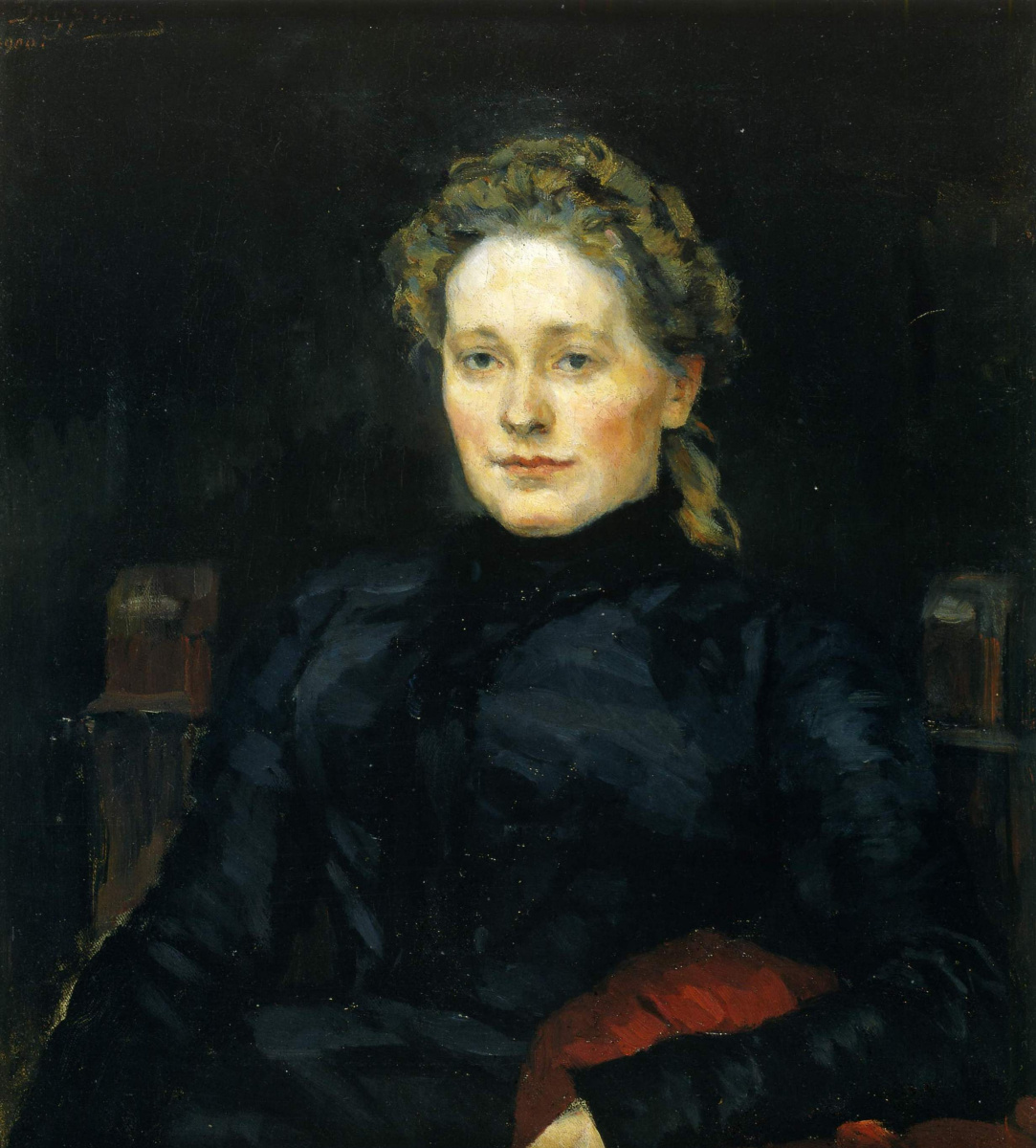 Vasily Ivanovich Surikov. Portrait Of A. P. Jurgenson