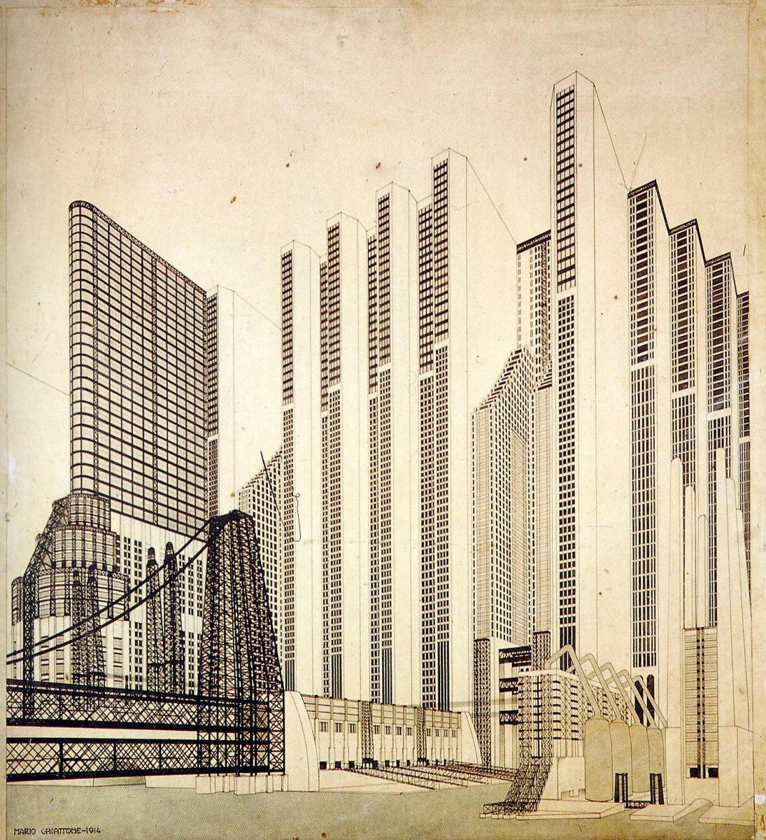 Марио Чиаттон. Построенные здания