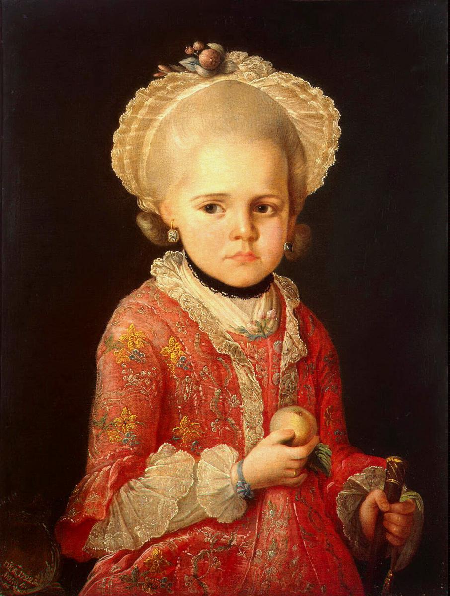 Матвей Сергеев. Портрет девочки