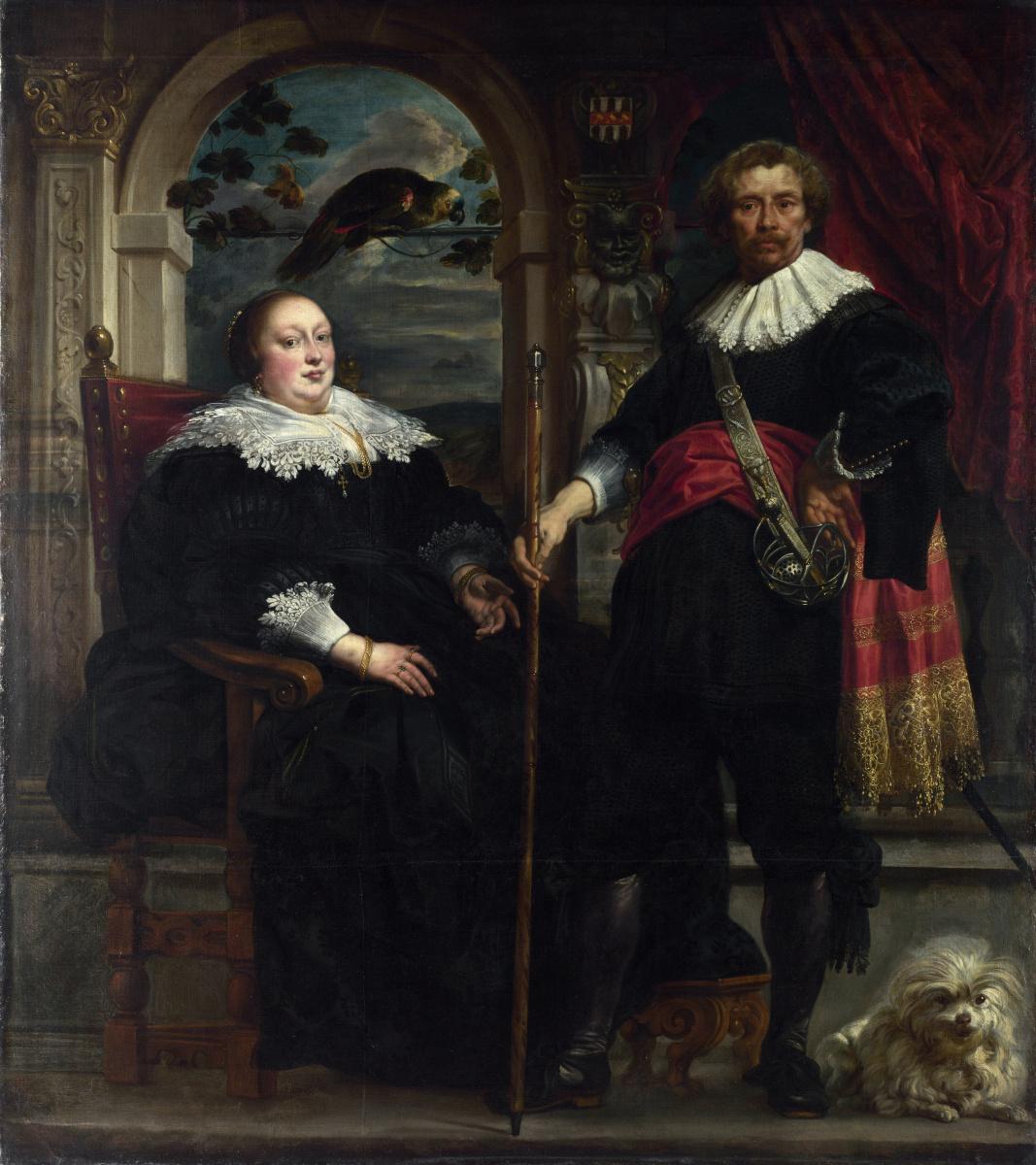 Якоб Йорданс. Портрет Говерта и его жены