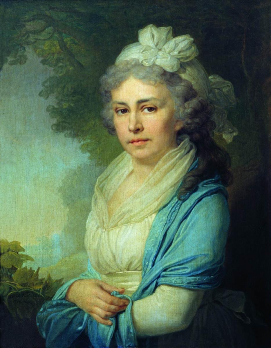 Владимир Лукич Боровиковский. Портрет Е. И. Неклюдовой. 1798