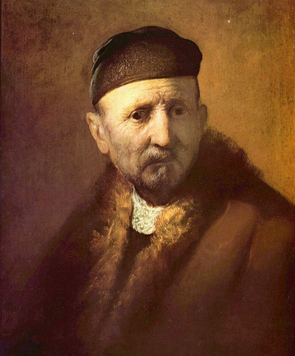 Рембрандт Ван Рейн. Портрет пожилого человека