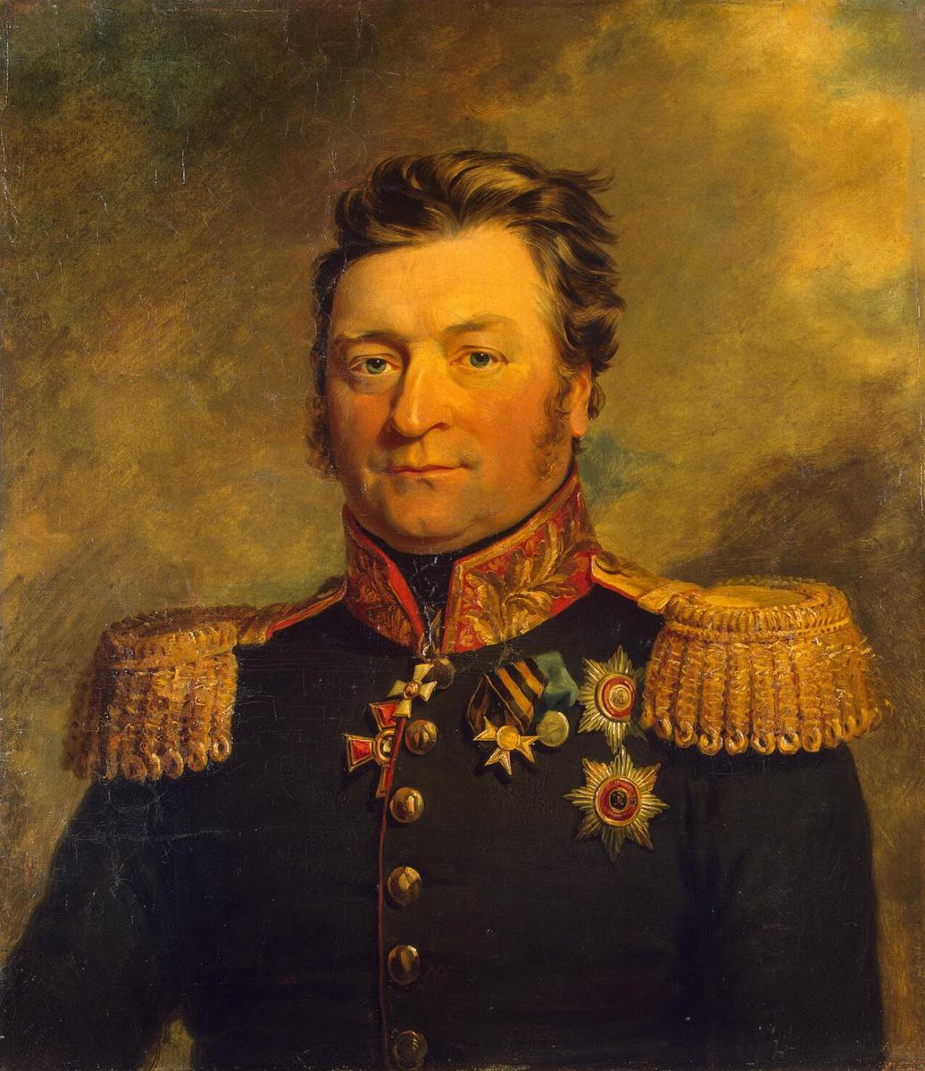 Джордж Доу. Портрет Александра Львовича Воинова