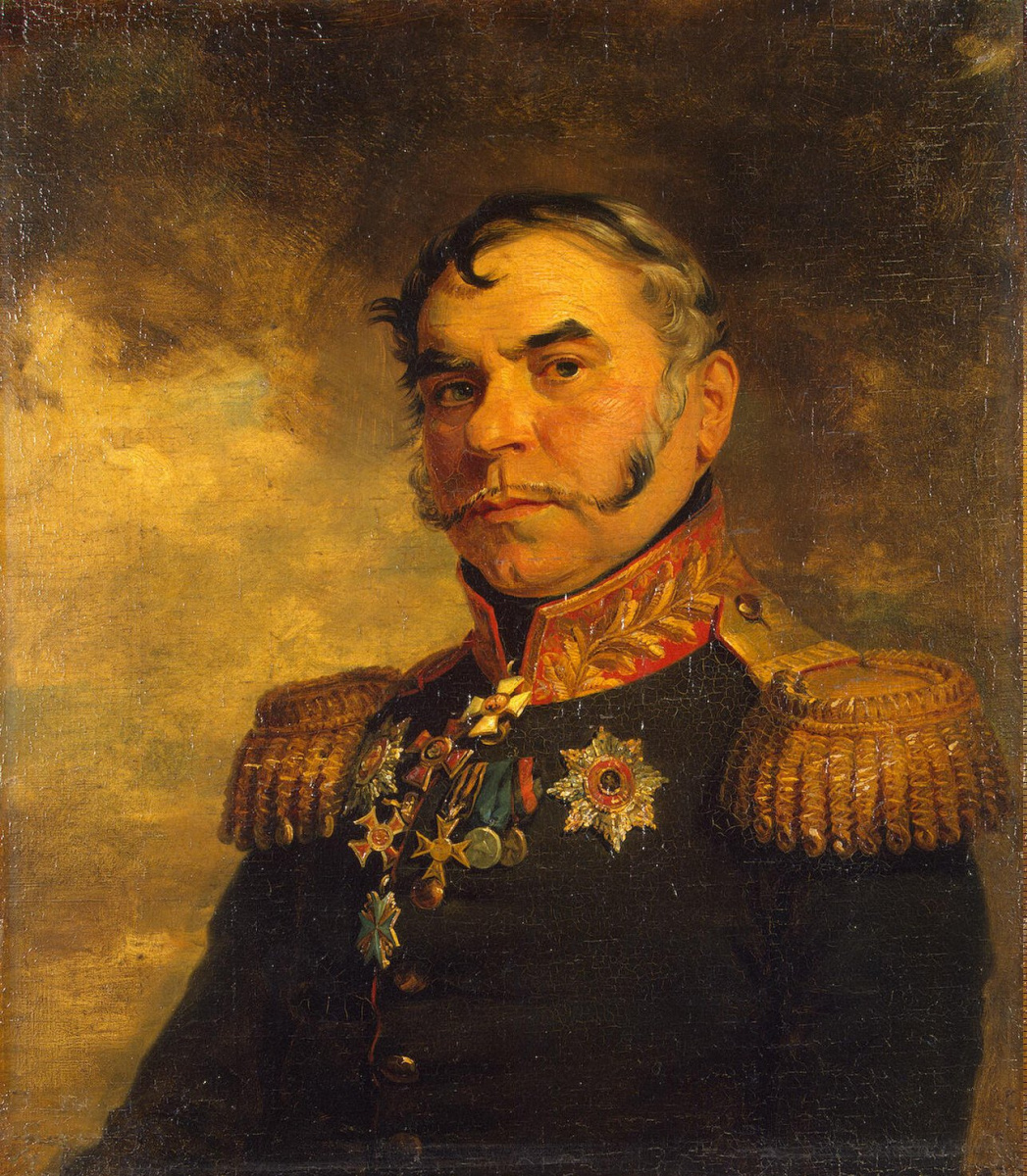 George Dow. Portrait of Gregory Ivanovich Lisanevich
