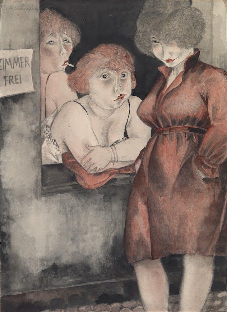 Jeanne Mammen. Free Room