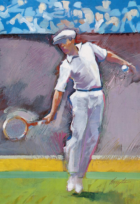 Frances Livingston. Tennis