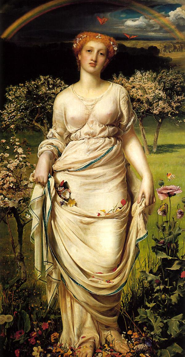 Anthony Frederick Augustus Sandys. Gentle spring