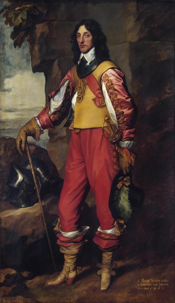 Антонис ван Дейк. Портрет сэра Томаса Уортона, кавалера ордена Бани