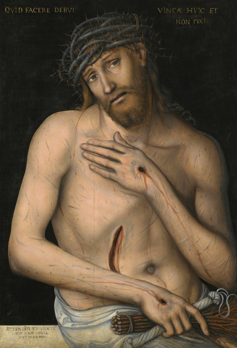 Lucas Cranach the Younger. Christ is a Martyr.