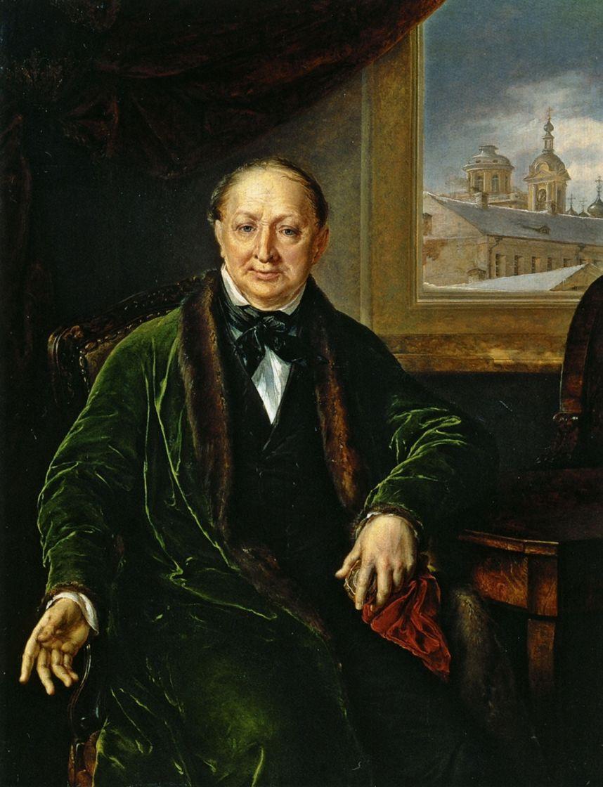Василий Андреевич Тропинин. Портрет М. Ф. Протасьева