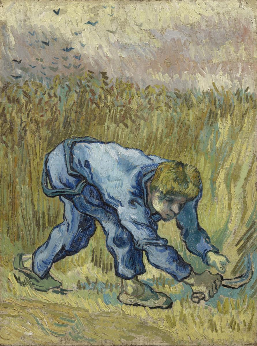 Винсент Ван Гог. Жнец с серпом