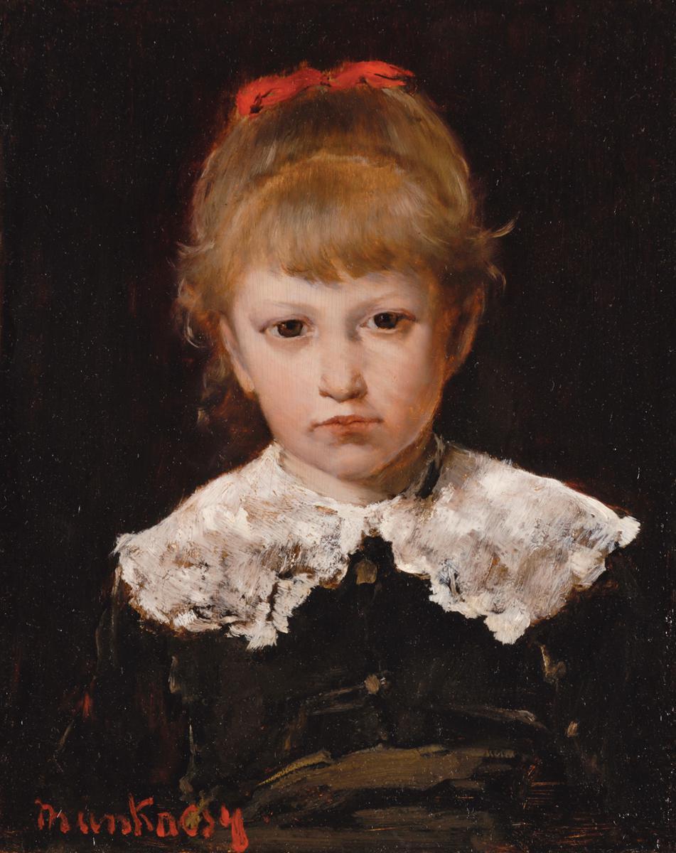 Михай Либ Мункачи. Портрет девочки