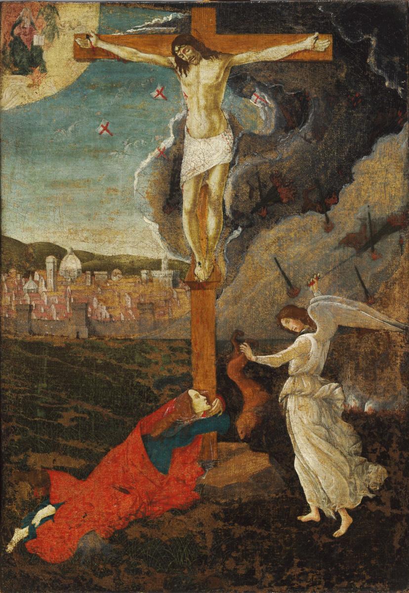 Sandro Botticelli. Mystical Crucifixion