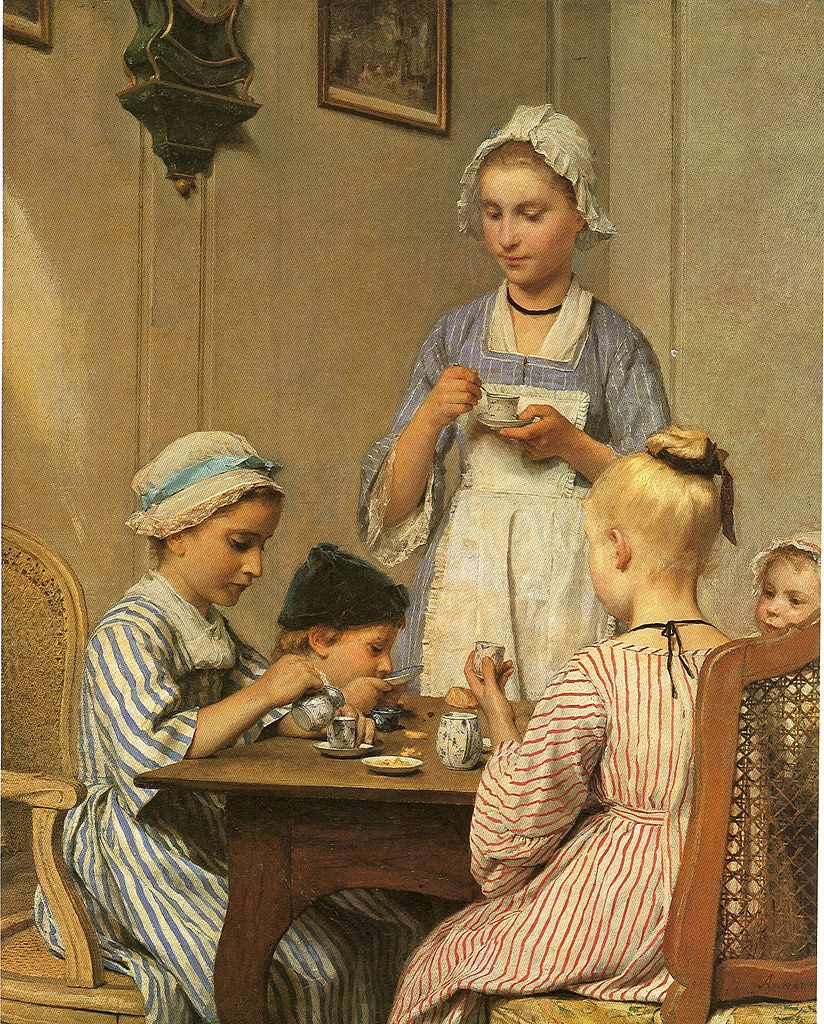 Albert Anchor. Children's Breakfast