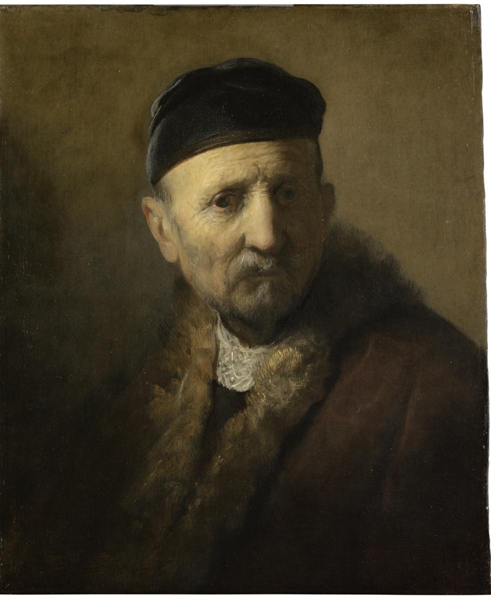 Rembrandt Harmenszoon van Rijn. Portrait of elderly man