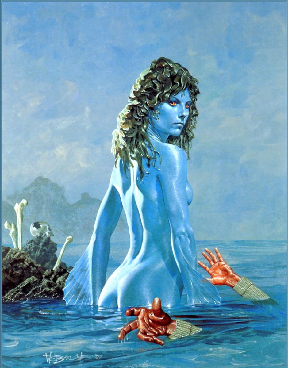 Уэйн Дуглас Барлоу. Выброшенные на берег морские водоросли
