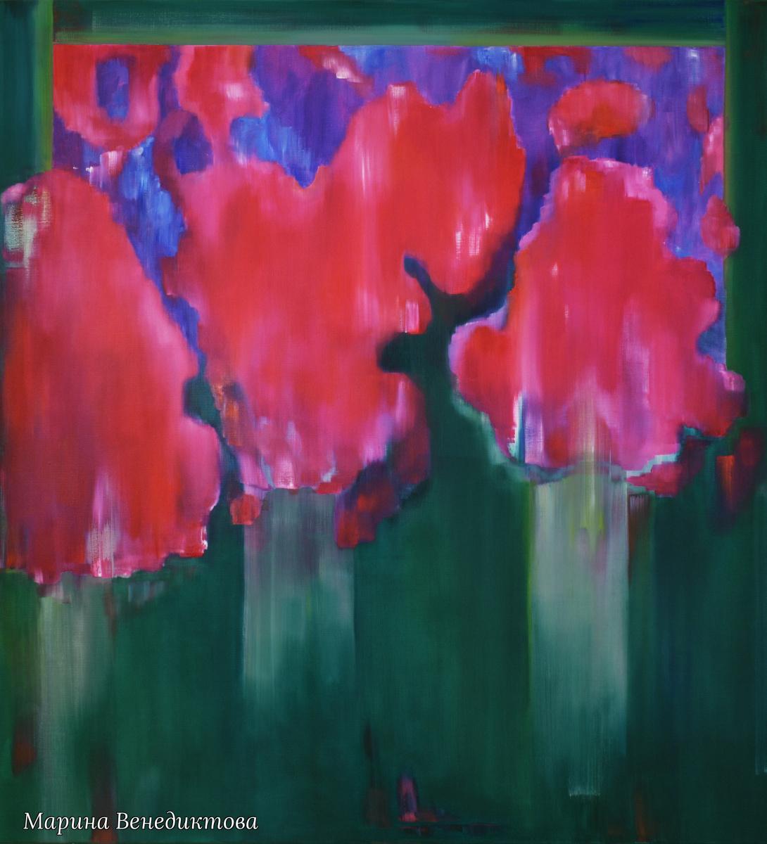Marina Venediktova. INSPIRATION - original oil painting