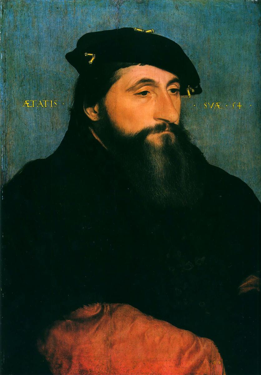 Ганс Гольбейн Младший. Портрет Антона Доброго, герцога Лотарингского