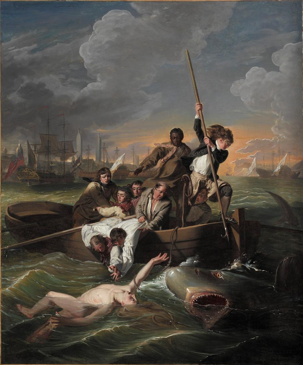 John Singleton Copley. Watson and the shark III