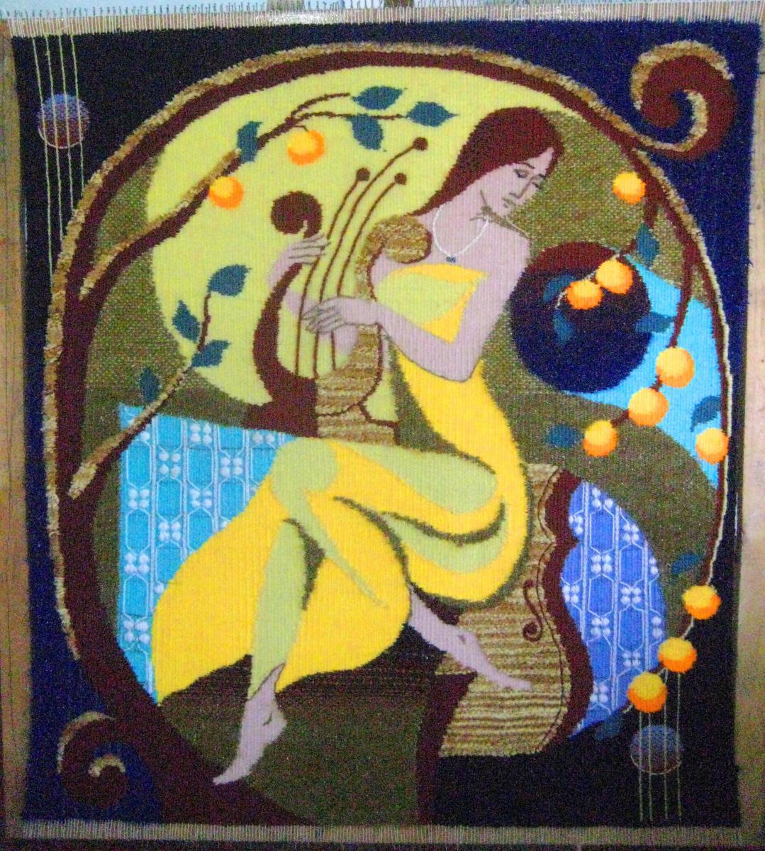 Olga Suncheleeva. Inspiration (tapestry)