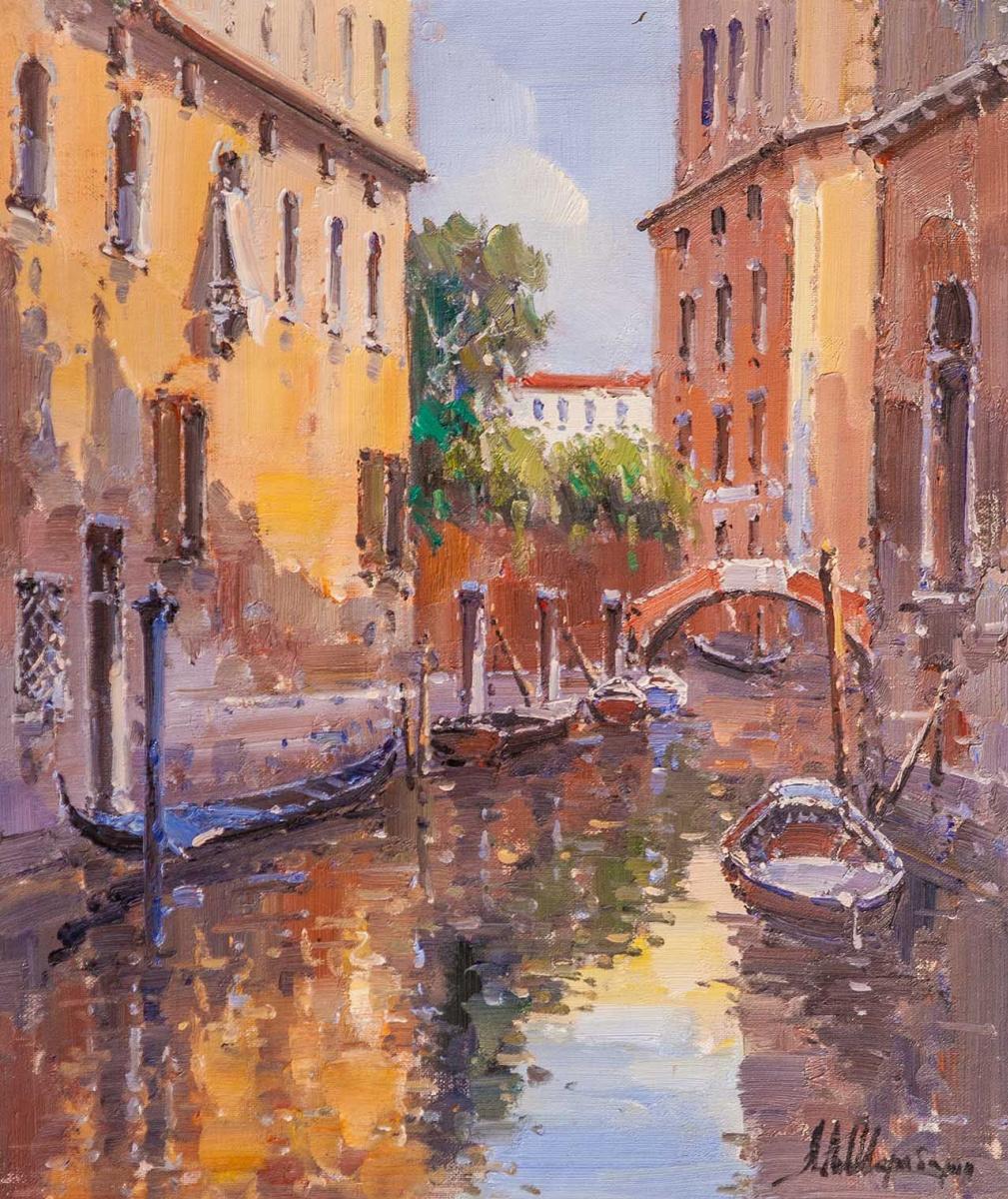 Andrey Sharabarin. Dreams of Venice N23
