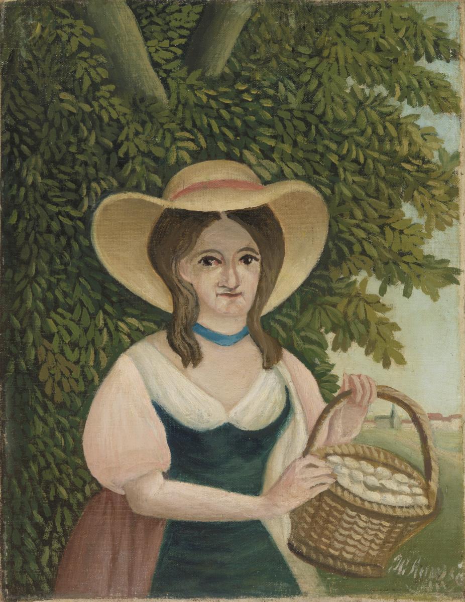 Анри Руссо. Женщина с корзиной яиц