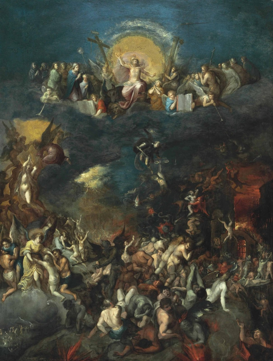 Frans Franken the Younger. The Last Judgment. 1606