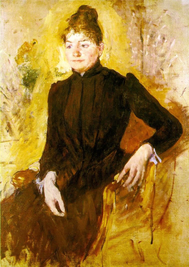 Мэри Кассат. Женщина в черном