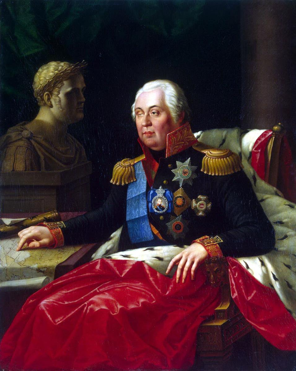 Иосиф Иванович Олешкевич. Портрет Михаила Илларионовича Кутузова