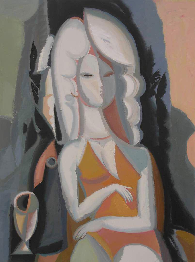 Nurlan Tayirov. Black-White girl