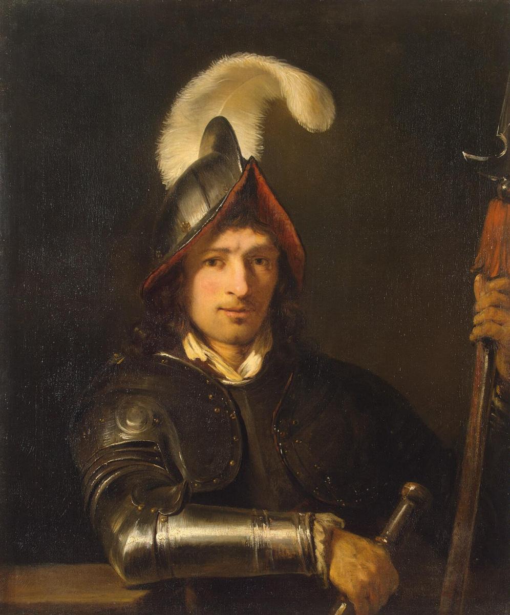Фердинанд Балтасарс Боль. Портрет офицера