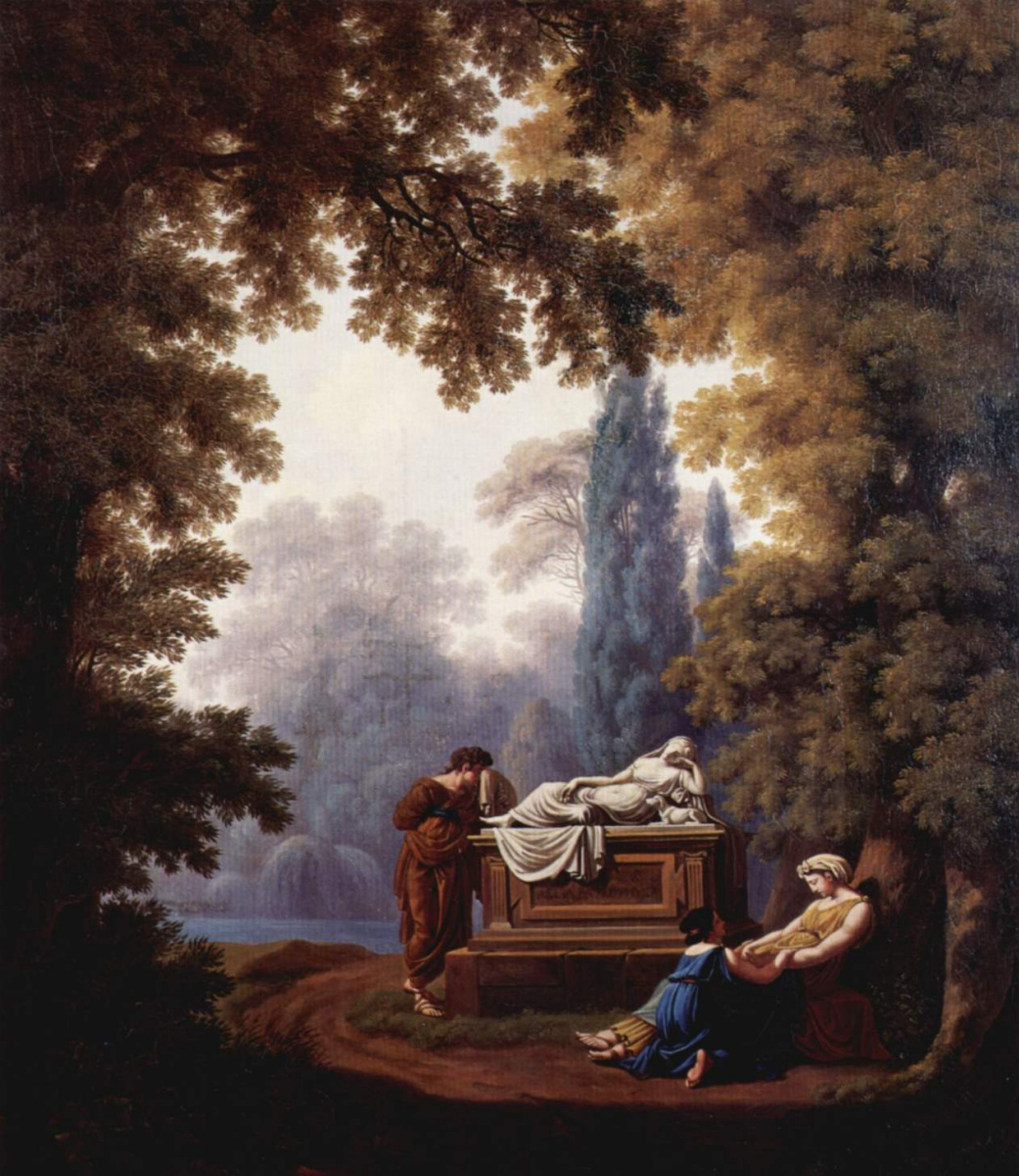 Пьер-Луис де Ларив. Надгробие С. де ла Рив