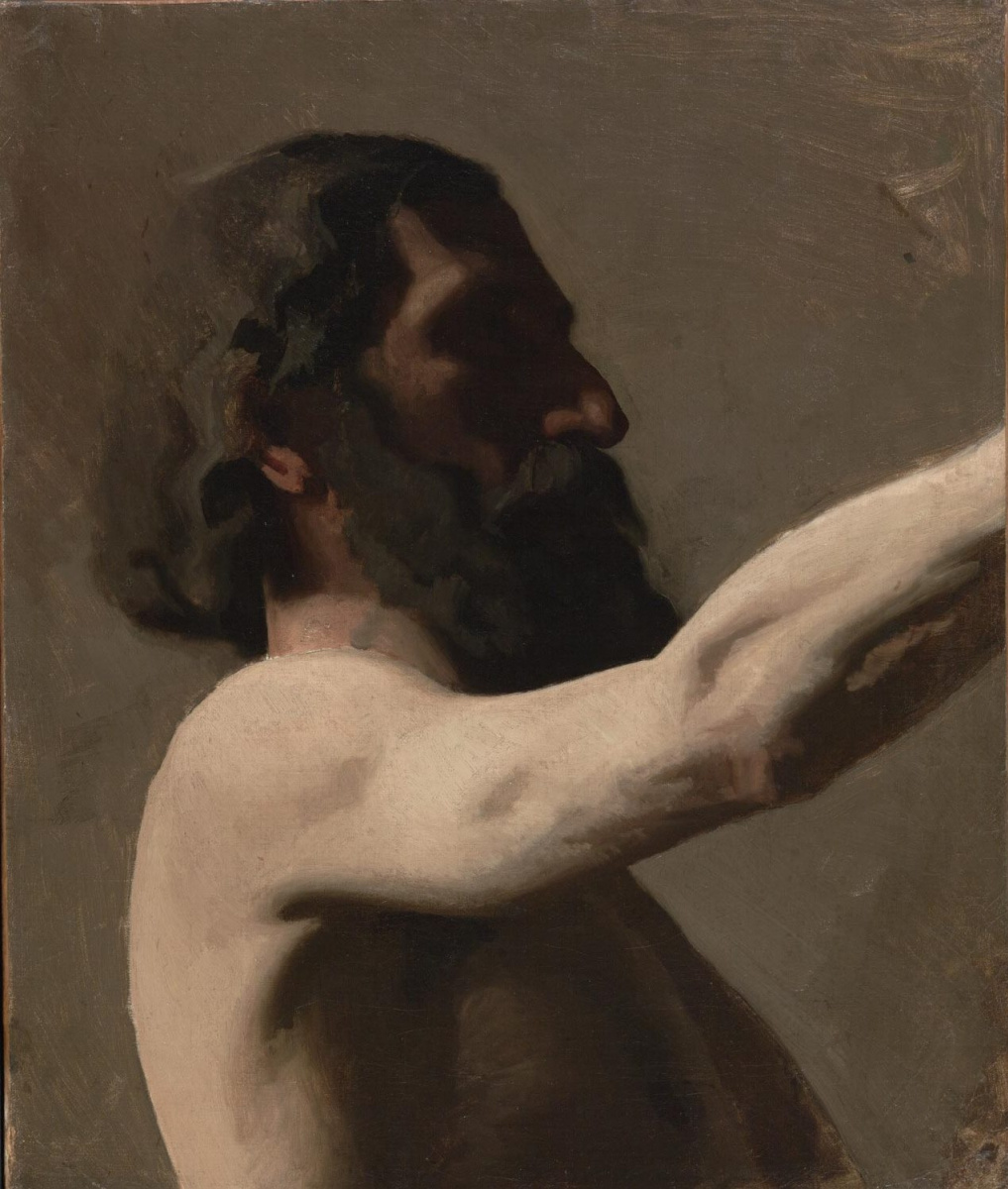 Thomas Eakins. Study of a Nude male