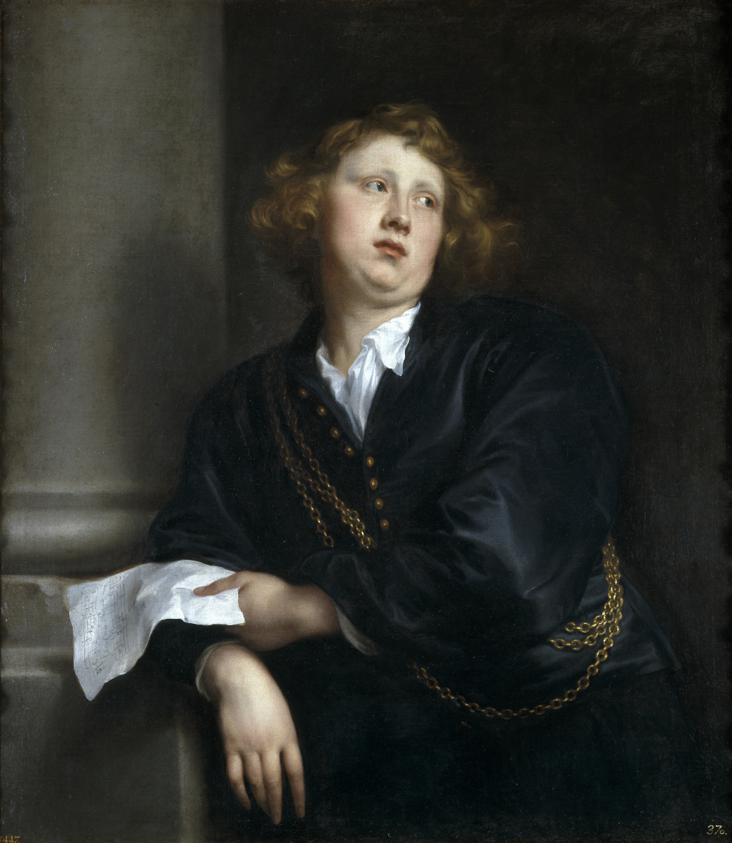 Anthony van Dyck. Henricus Liberti, composer and organist