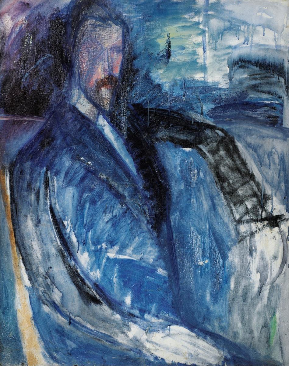 Амедео Модильяни. Неоконченный портрет Поля Александра