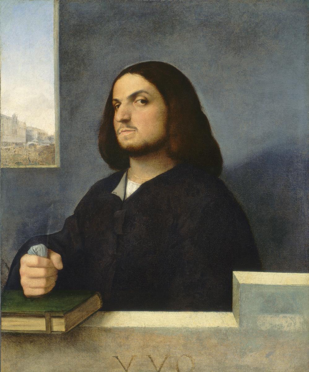 Titian Vecelli. A portrait of a noble Venetian