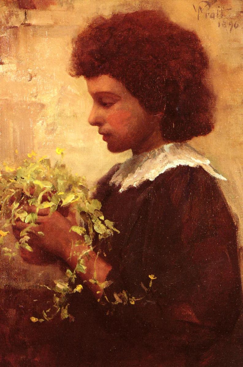 Уильям Пратт. Маленький садовник
