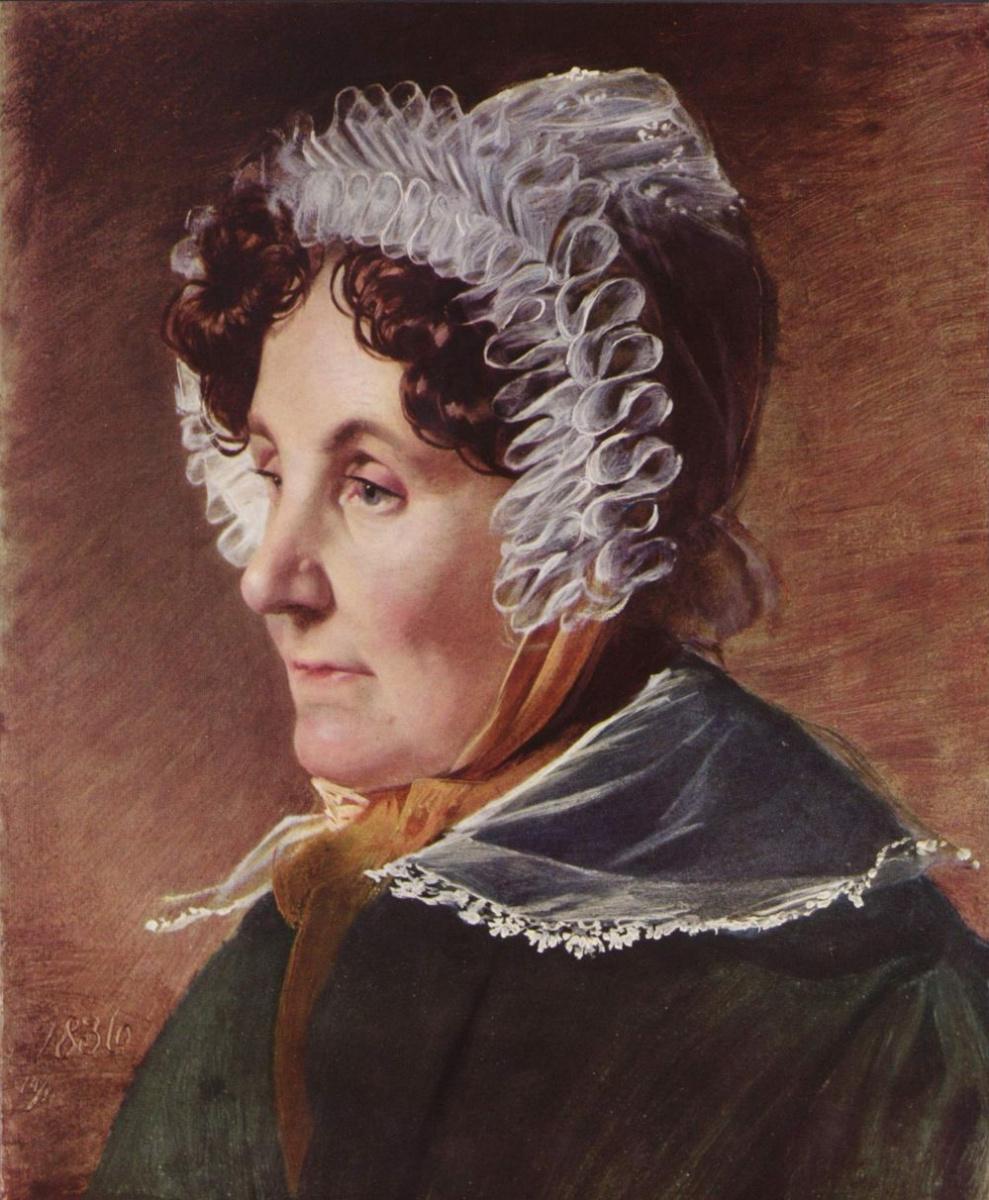 Фридрих фон Амерлинг. Мать художника