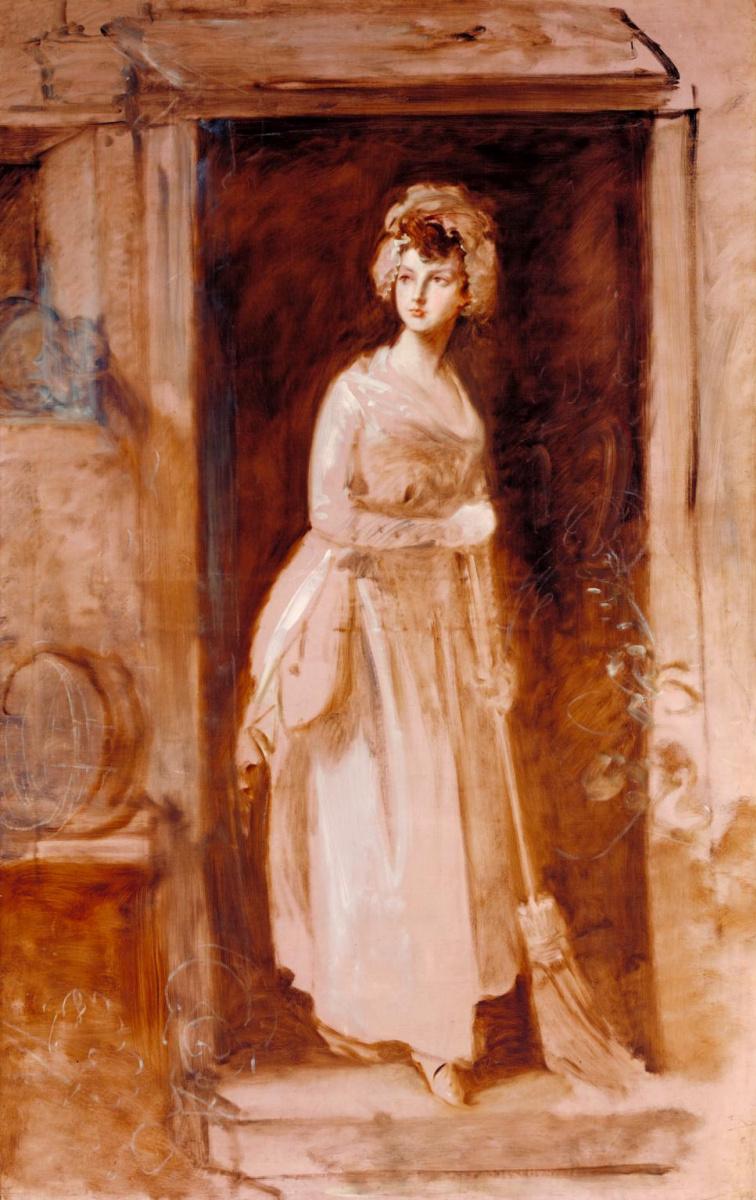 Thomas Gainsborough. The maid (Portrait of a maid)