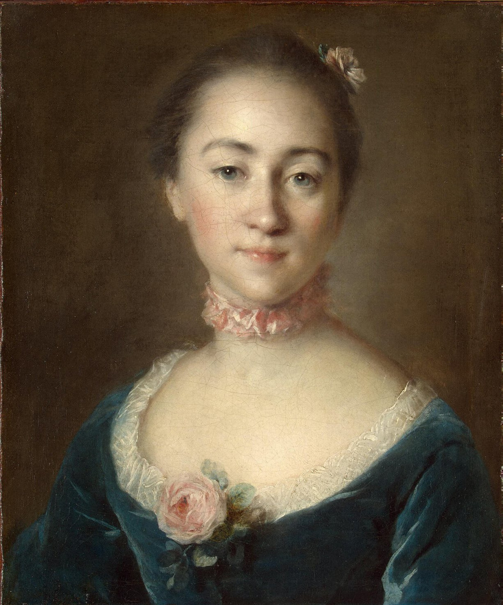 Louis Tokke. Portrait of Countess Golovkina