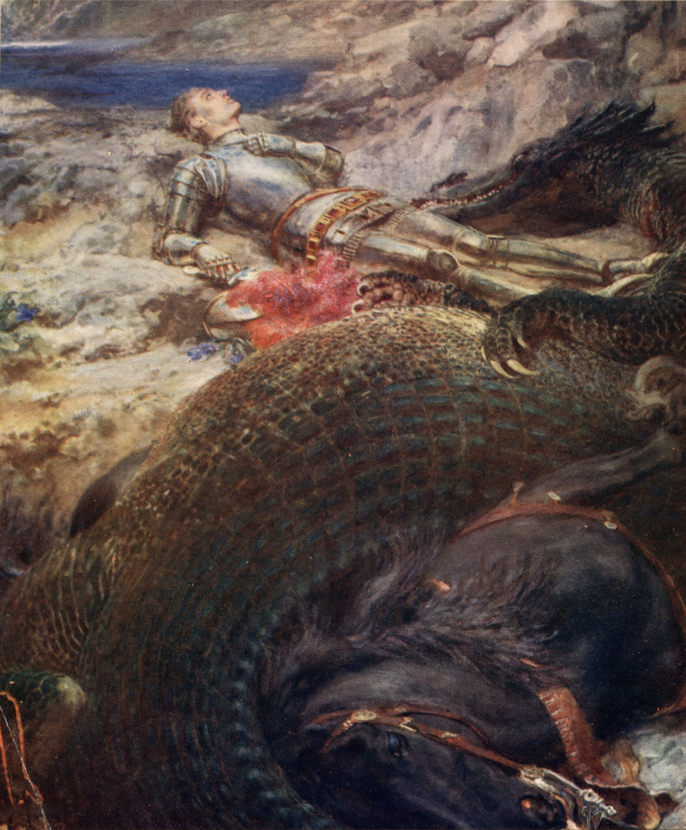 Brighton Riviere. St. George and the Dragon