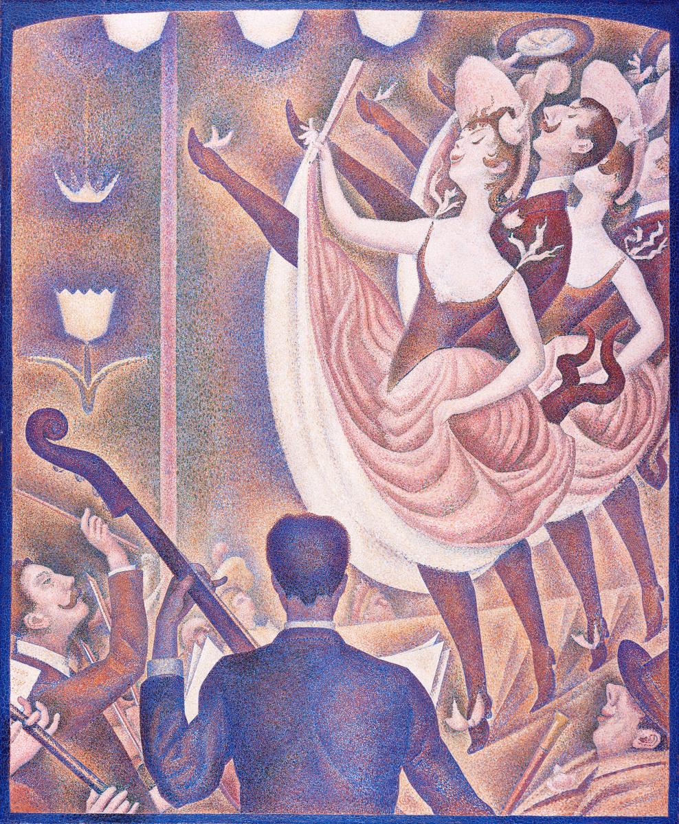 """Georges Seurat. Sketch for """"Cabaret"""""""