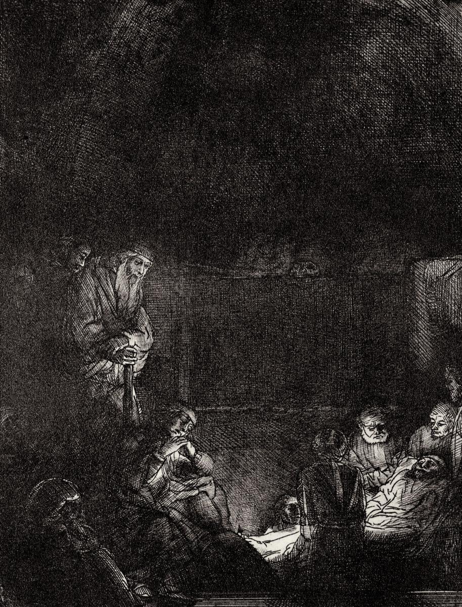 Рембрандт Харменс ван Рейн. Положение во гроб