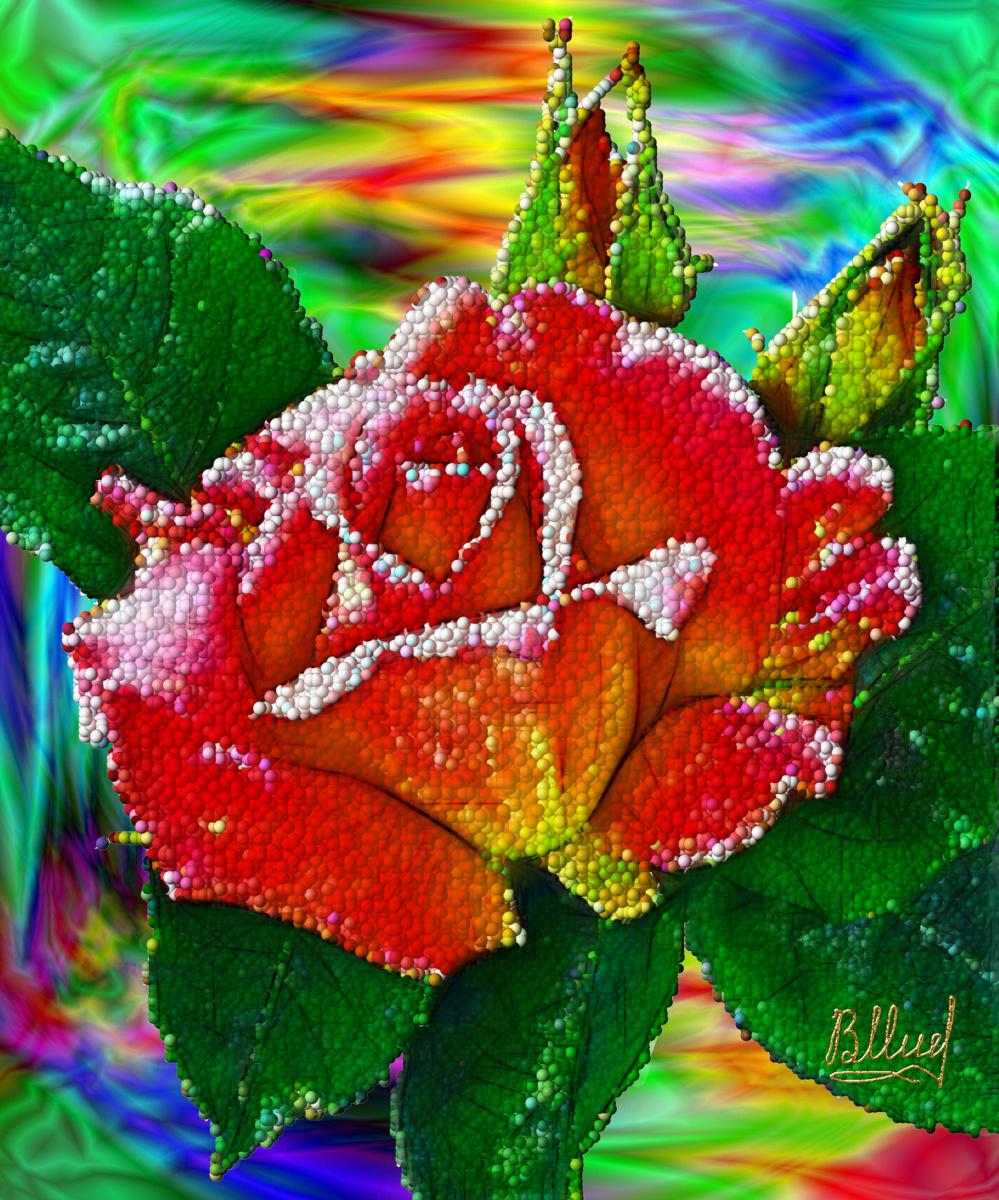 Vasiliy Mishchenko. Flowers 001
