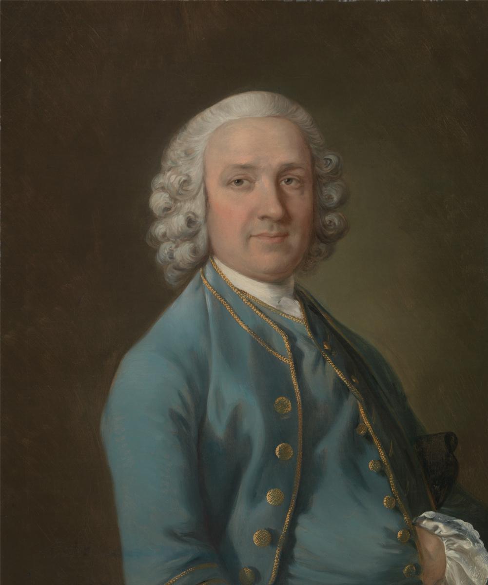 Thomas Gainsborough. Mr. wood, the dancing master