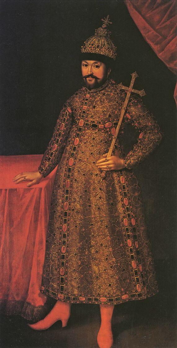 Иоганн Генрих Ведекинд. Портрет царя Михаила Федоровича
