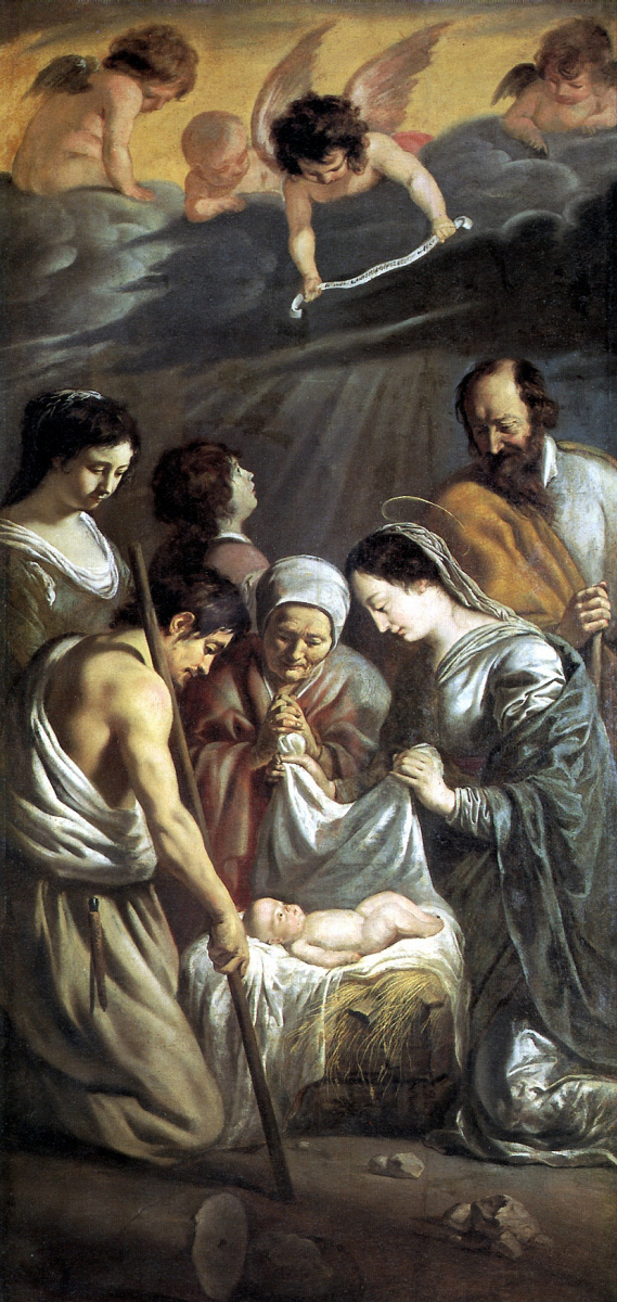 Антуан, Луи и Матье Ленен. Поклонение пастухов