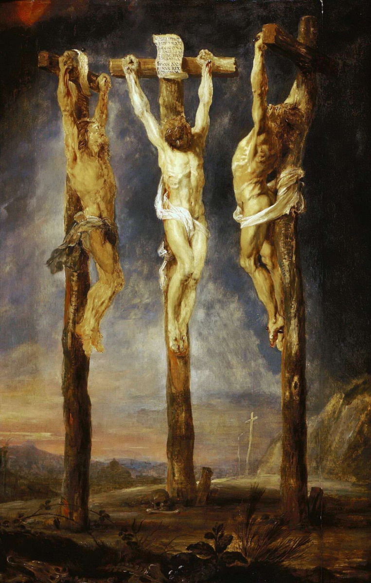 Питер Пауль Рубенс. Три Распятия