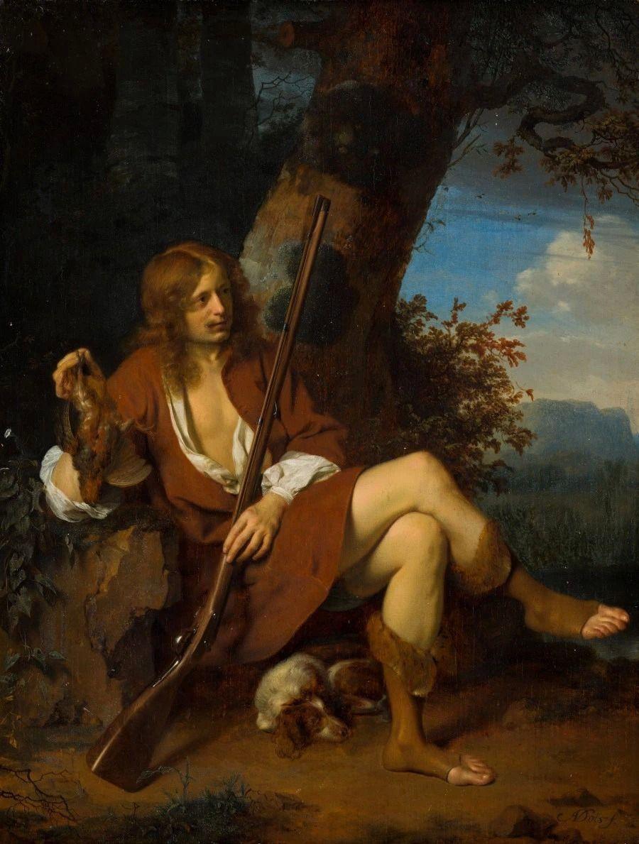 Ари де Войс. Автопортрет в образе охотника