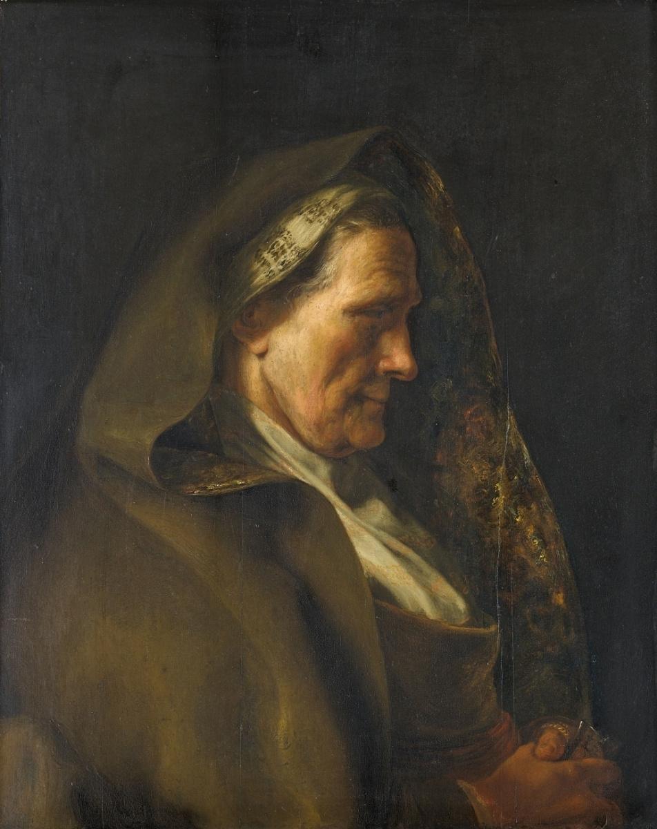 Ян Ливенс. Портрет пожилой женщины